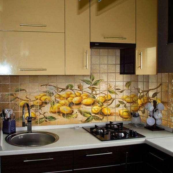 Как сделать рабочий фартук для кухни своими руками