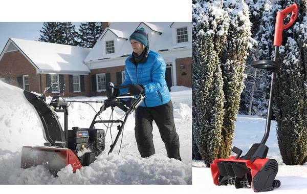 Уборка территорий в зимний период времени от снега