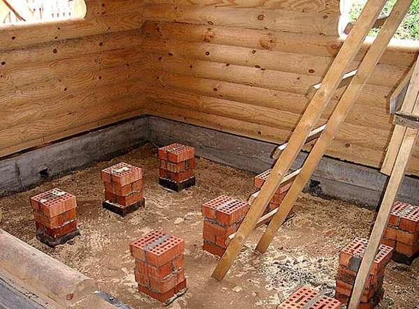 Сделать подвал в деревянном доме своими руками 31