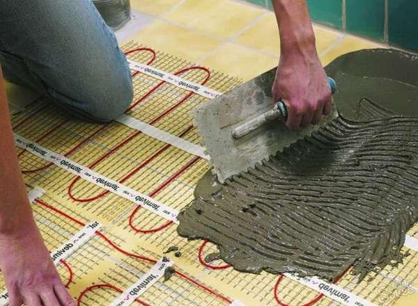 Как сделать теплый водяной пол и стяжку 4