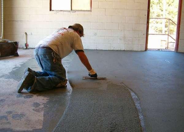 Как стелить линолеум на бетонный пол правильно  инструкция
