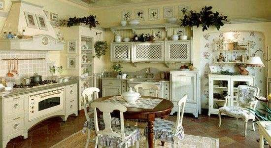 Оформление кухни в стиле прованс своими руками