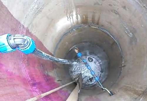 Как прочистить скважину кислотой