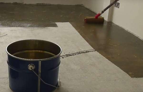 Стяжка пола из бетона  видео 138