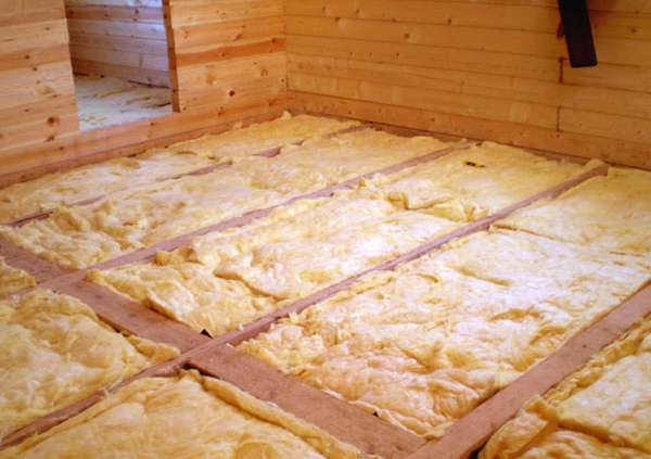 Утеплить полы в старом деревянном доме своими руками